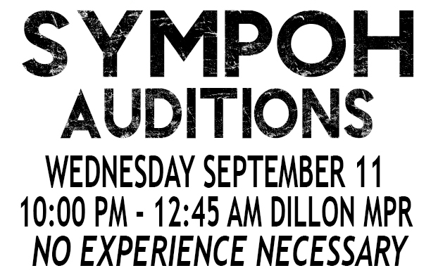 Fall 2013 Auditions